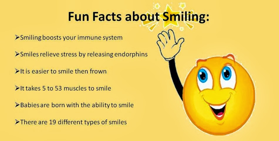 Fun Facts About Smiling